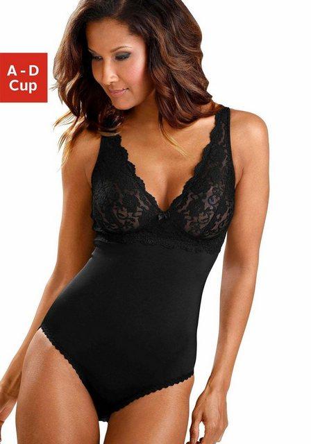 Nuance Body ohne Bügel mit Cups aus transparenter Spitze | Unterwäsche & Reizwäsche > Bodies & Corsagen | Nuance