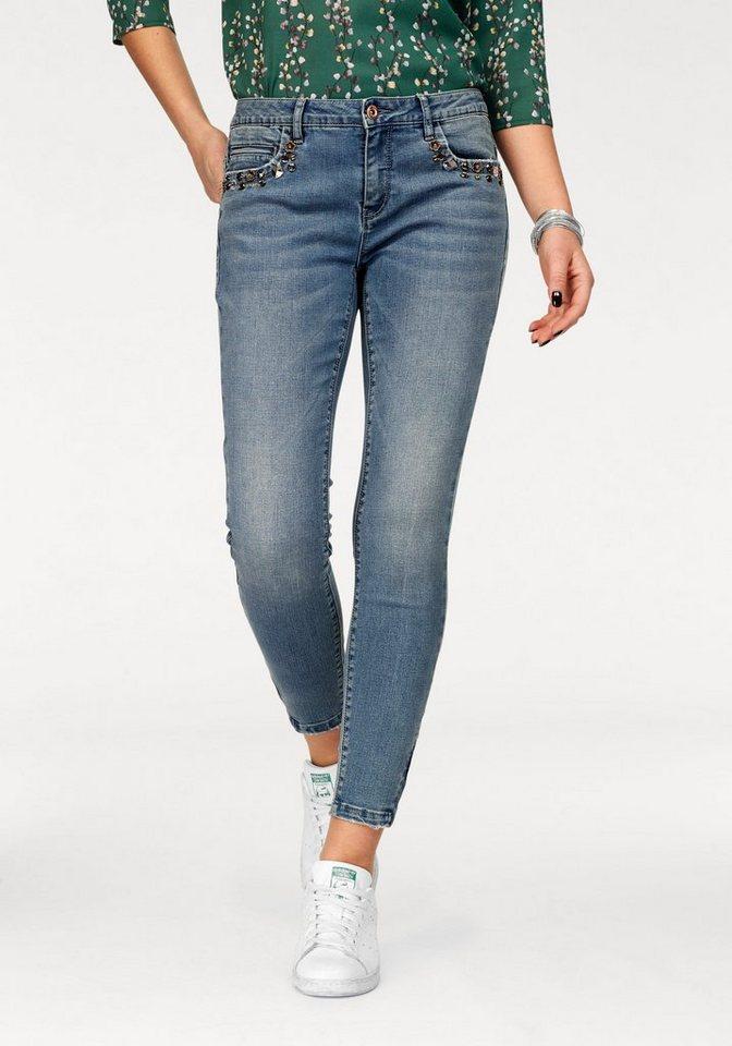 only ankle jeans kendell zoe mit glitzersteinchen. Black Bedroom Furniture Sets. Home Design Ideas