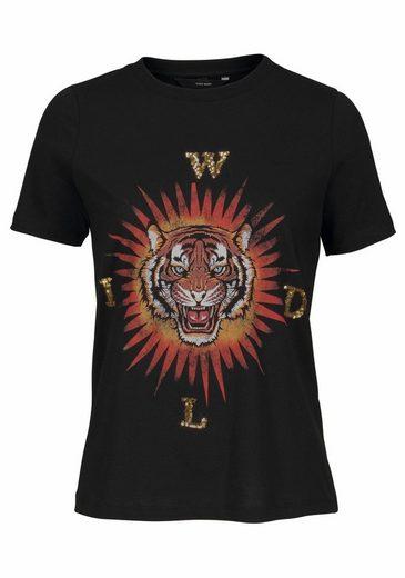 Vero Moda T-Shirt MANDO, mit Pailletten