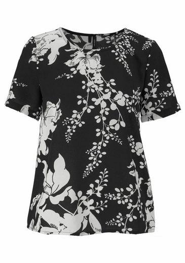 Vero Moda Shirtbluse KANA, mit Blumen-Print