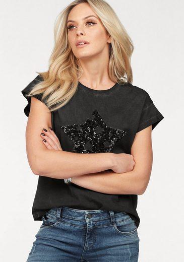 ZABAIONE T-Shirt LILLI, mit Paillettenfiguren