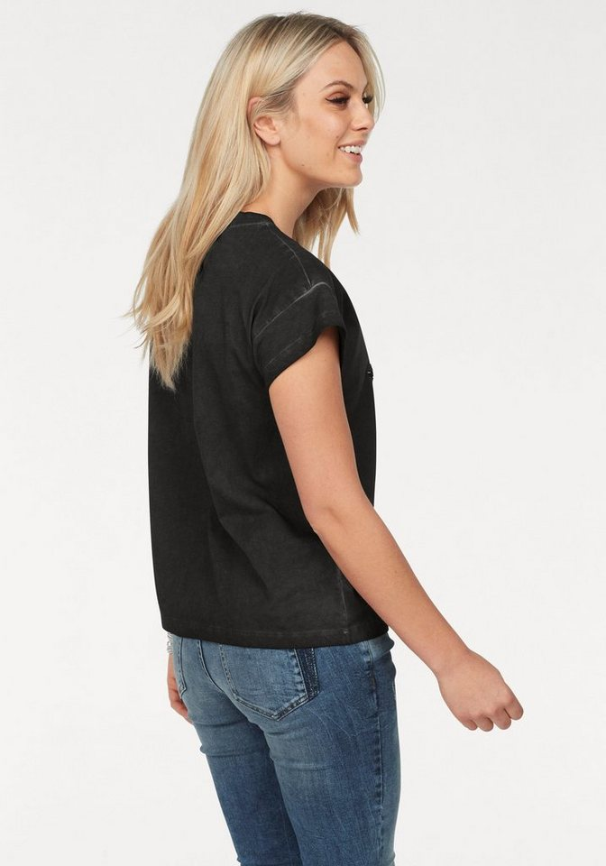 ZABAIONE T-Shirt »LILLI« mit Paillettenfiguren