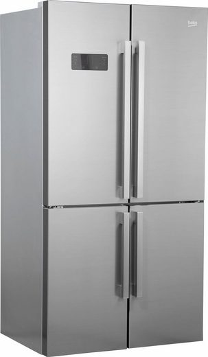 BEKO Side-by-Side GN1416231ZX, 182 cm hoch, 90,8 cm breit