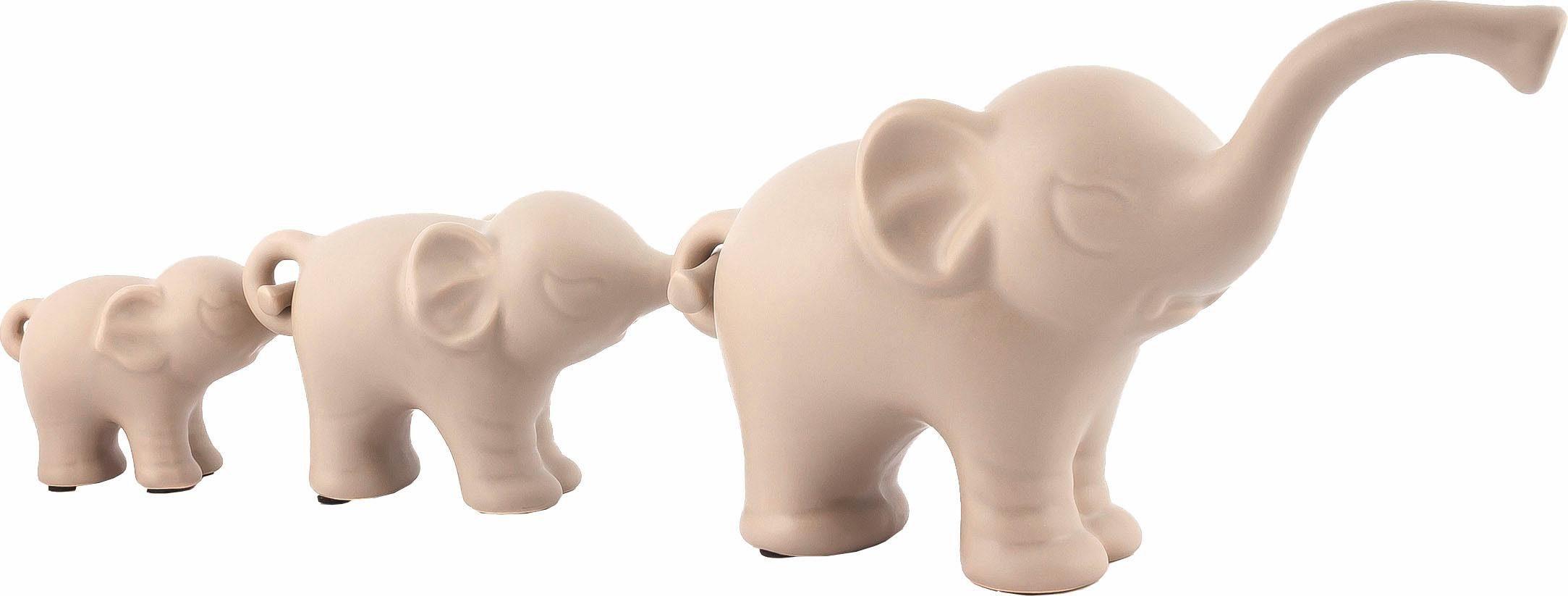 Home affaire Elefanten-Trio »Family«
