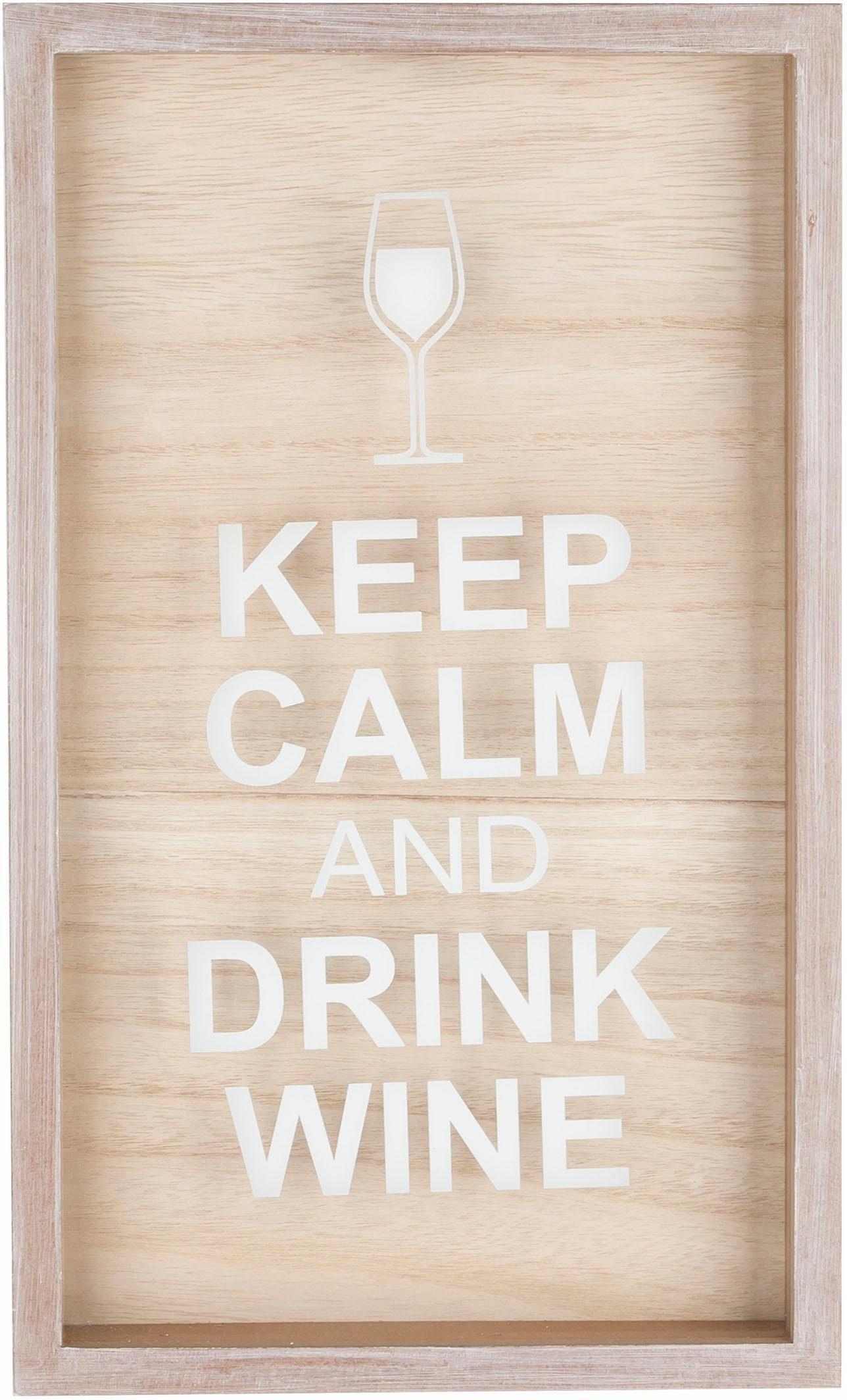 Home affaire Korkensammler »White Wine«