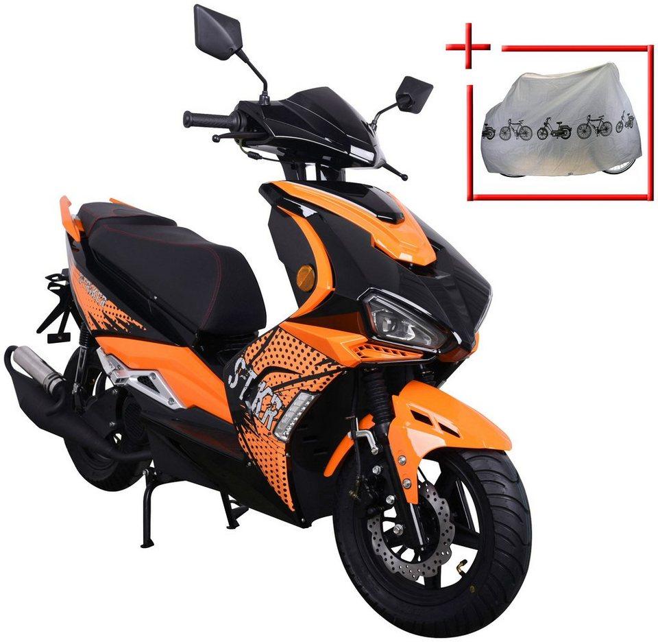 gt union motorroller striker 50 ccm orange otto. Black Bedroom Furniture Sets. Home Design Ideas