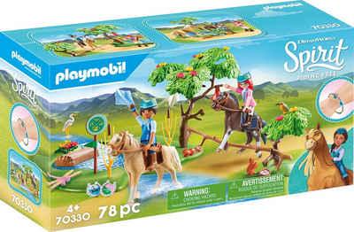 Playmobil® Konstruktions-Spielset »Herausforderung am Fluss (70330), Spirit Riding Free«, (78 St), Made in Germany