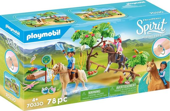 Playmobil® Konstruktions-Spielset »Herausforderung am Fluss (70330), Spirit Riding Free«, ; Made in Germany