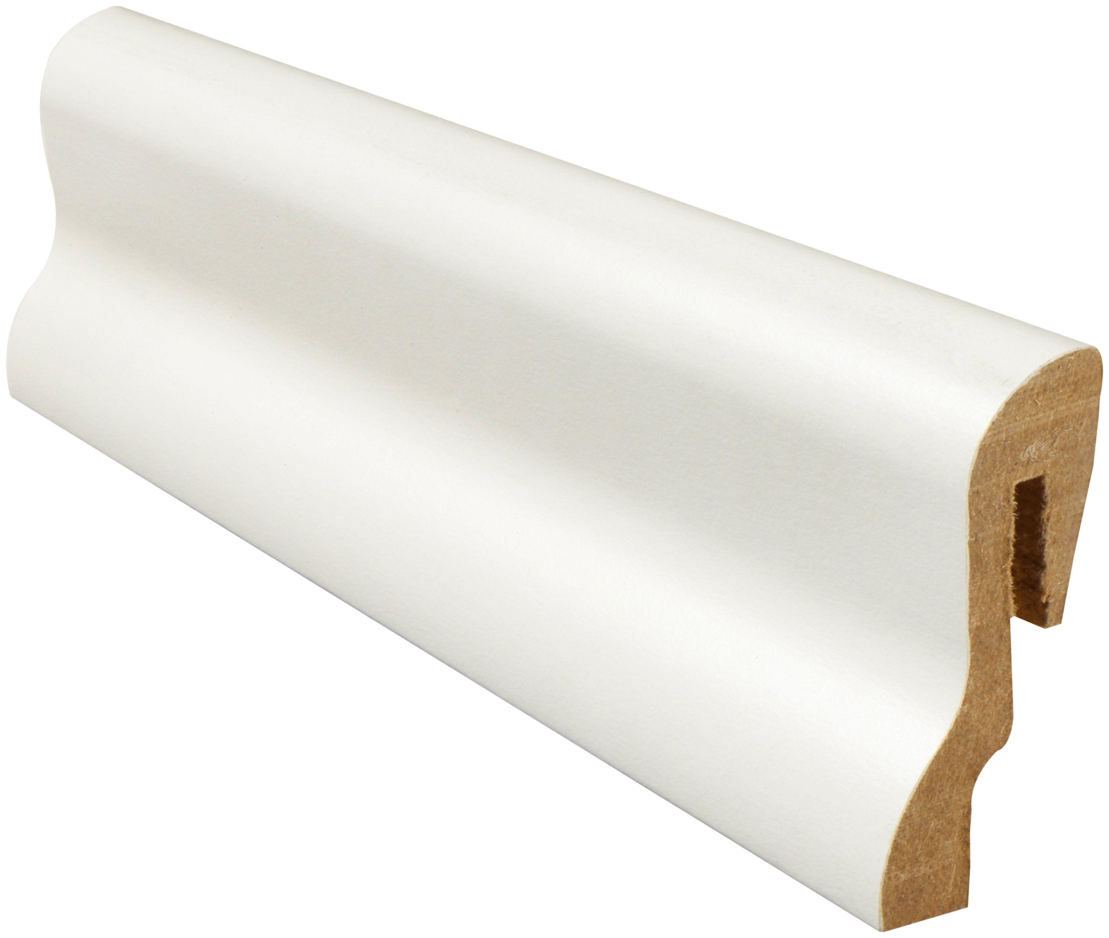 MODERNA Sockelleiste »Sockelleiste SL 40 - weiß«, 1 Stk., Höhe: 4 cm
