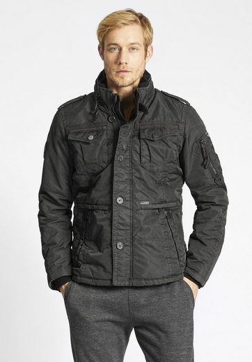 Khujo Winterjacke Rexo 2 With Fold-away Hood In Collar