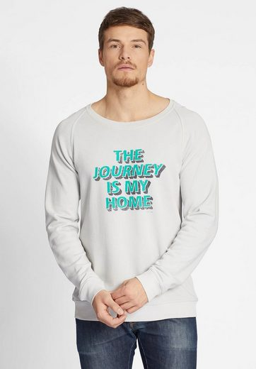 khujo Sweatshirt WORTH, mit Print auf der Front