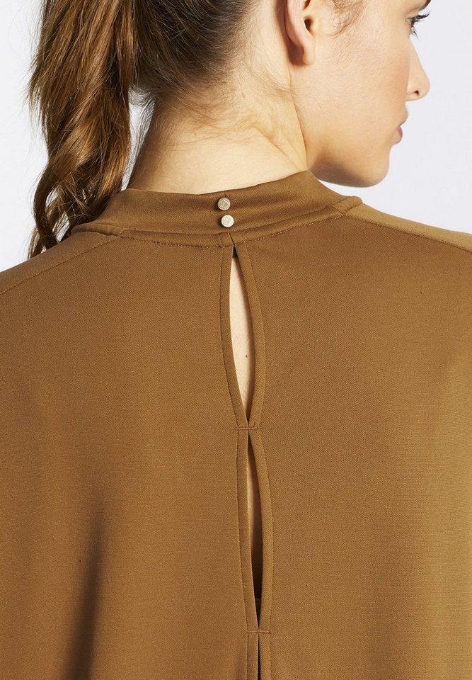 khujo Oversize-Shirt »SHANO« in gläzendem Stretch-Material