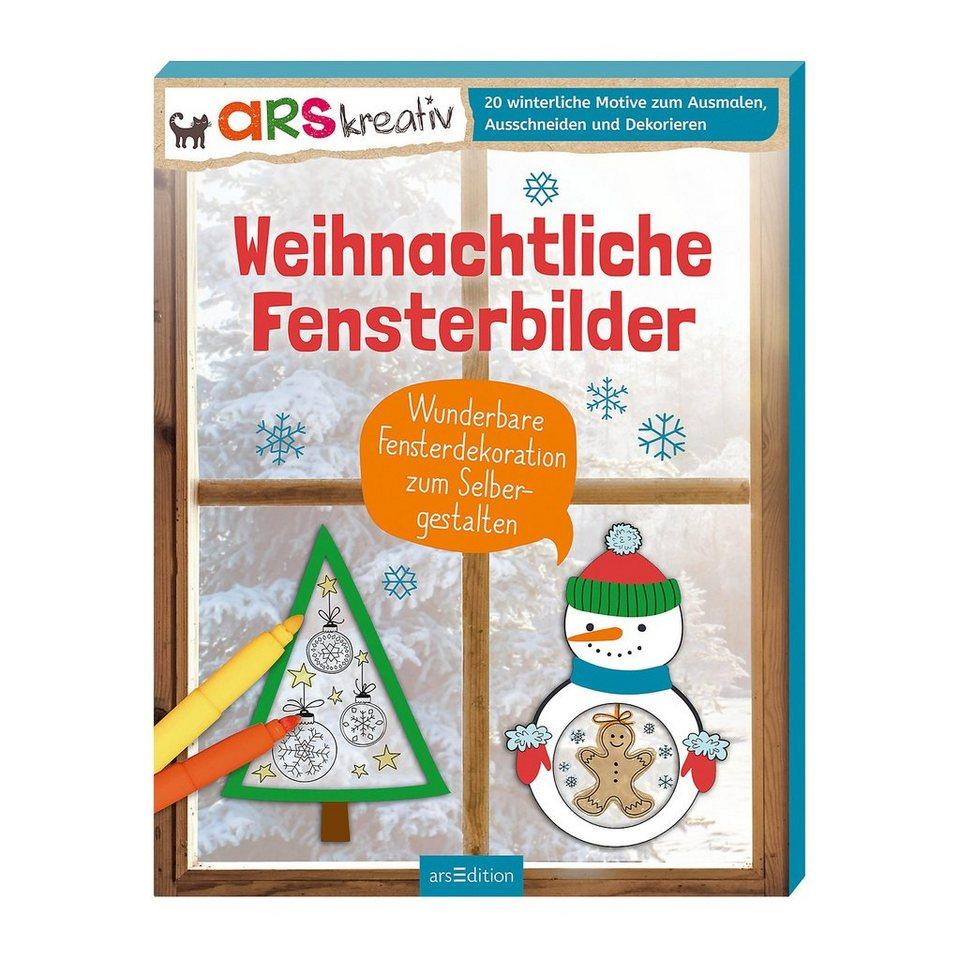 ArsEdition Verlag arsKreativ: Weihnachtliche Fensterbilder online kaufen