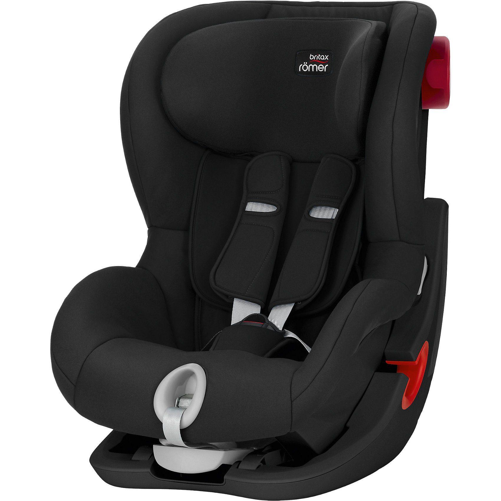 Britax Römer Auto-Kindersitz King II, Black Series, Cosmos Black, 2018