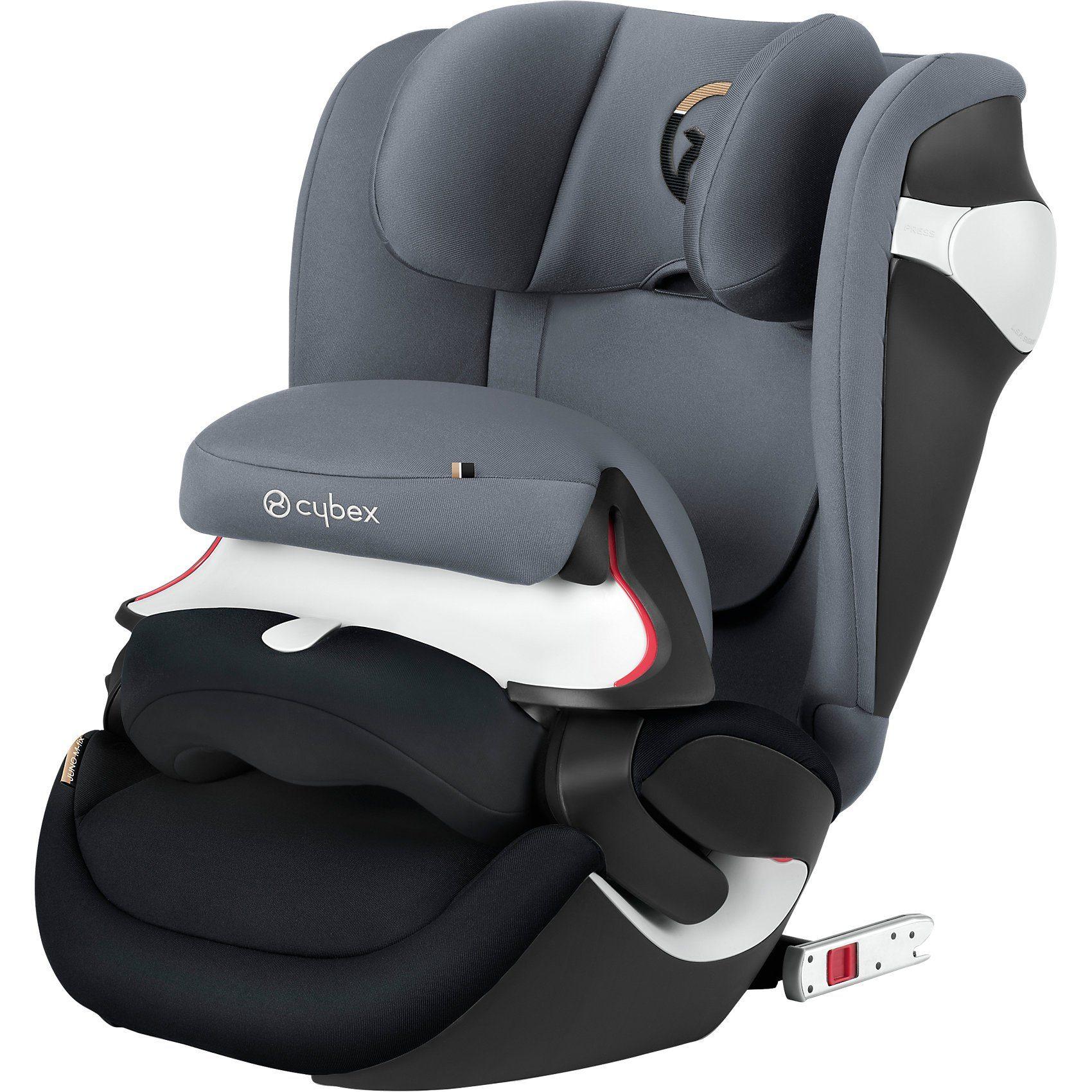 Cybex Auto-Kindersitz Juno M-Fix, Gold-Linie, Graphite Black - Dar