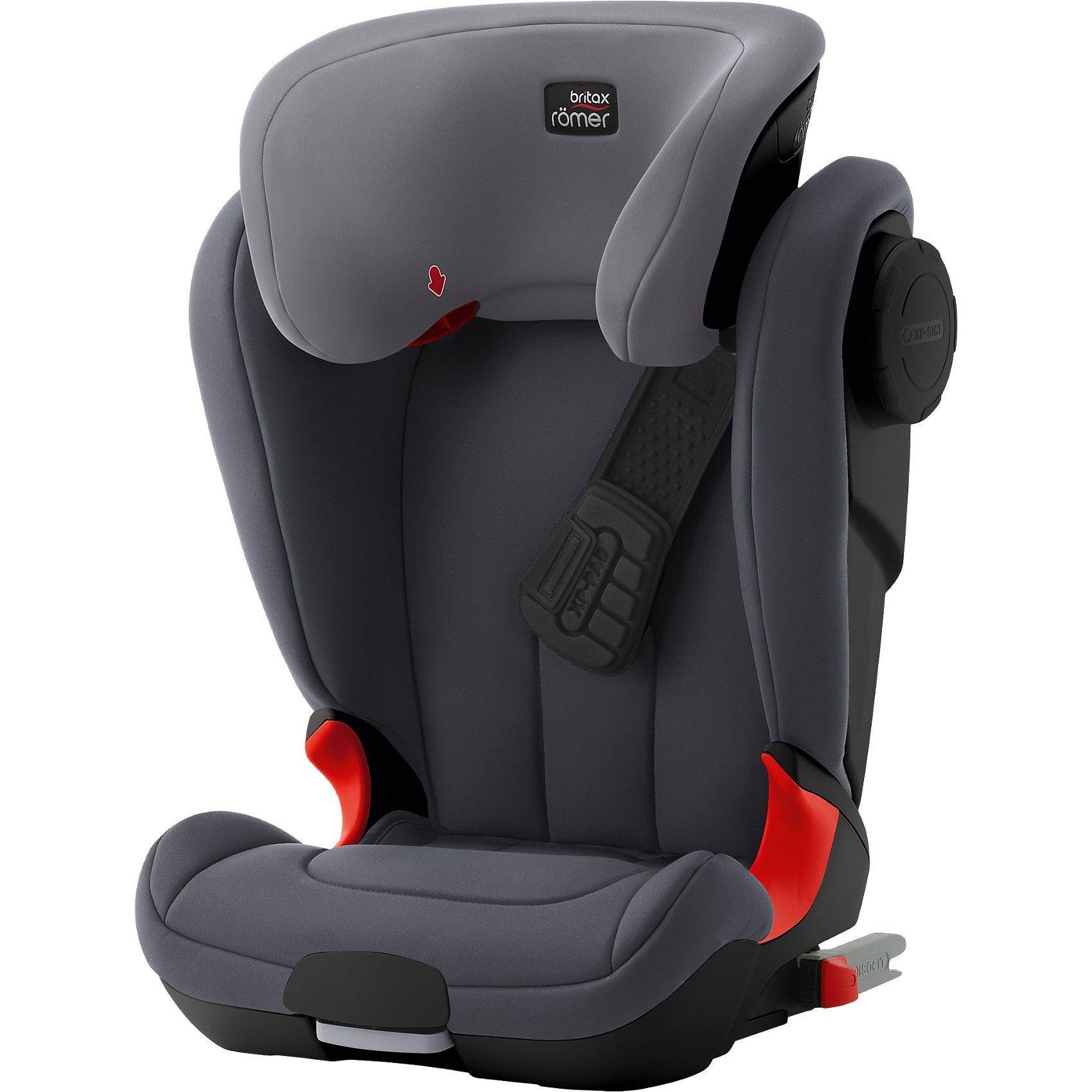 BRITAX RÖMER Auto-Kindersitz Kidfix XP SICT, Black Series, Storm Grey, 20