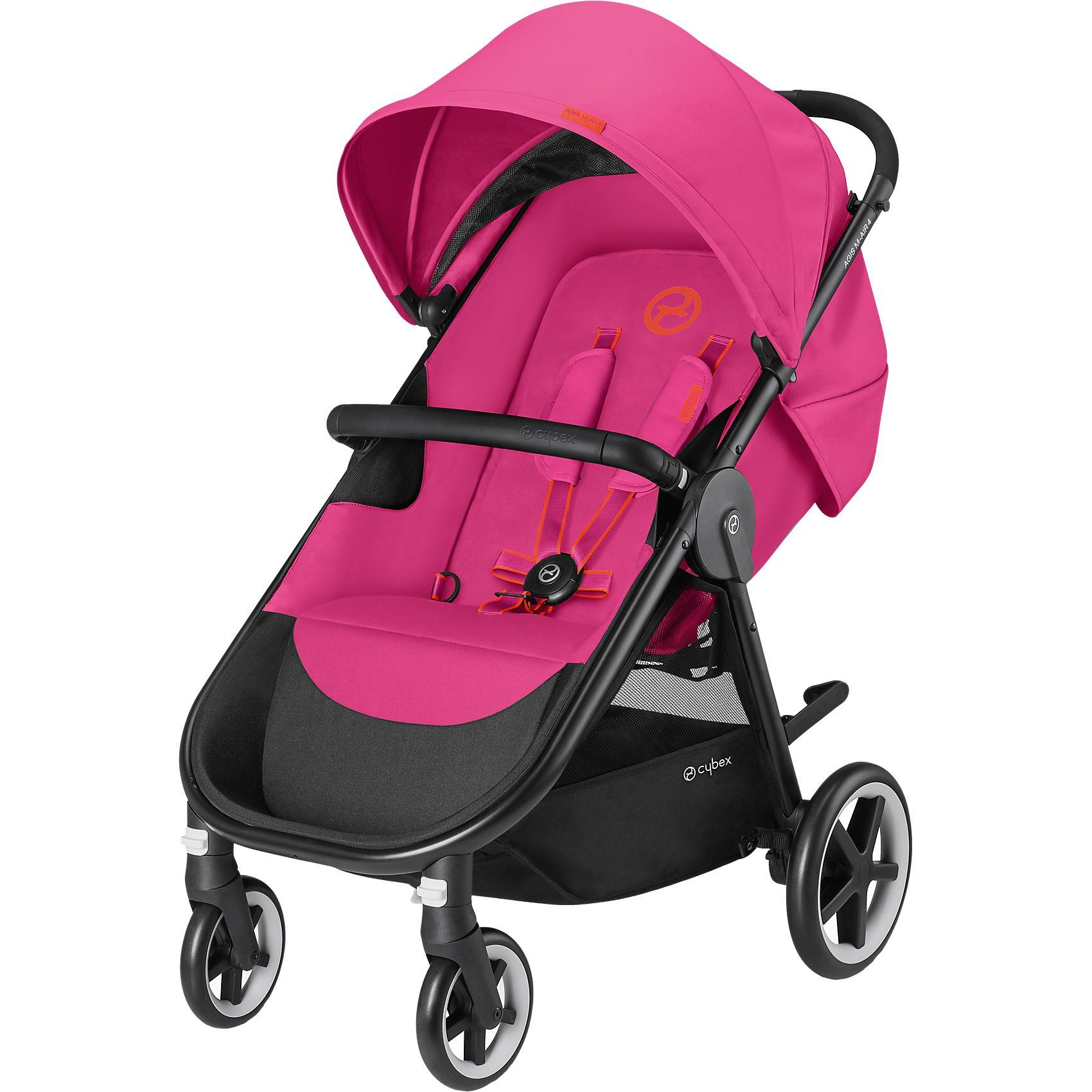 Cybex Shopper Agis M-Air 4, Gold-Line, Passion Pink-Purple