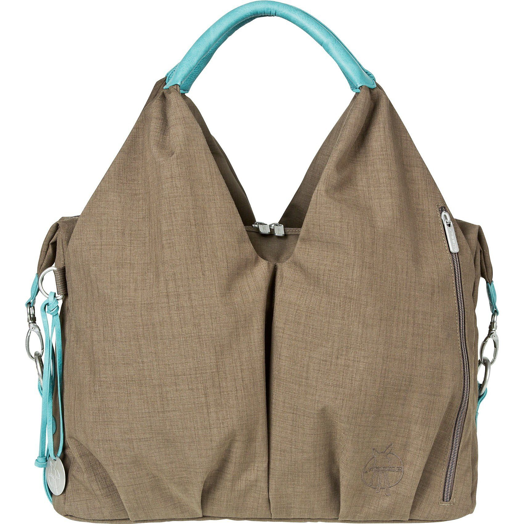 Lässig Wickeltasche Greenlabel, Neckline Bag, taupe
