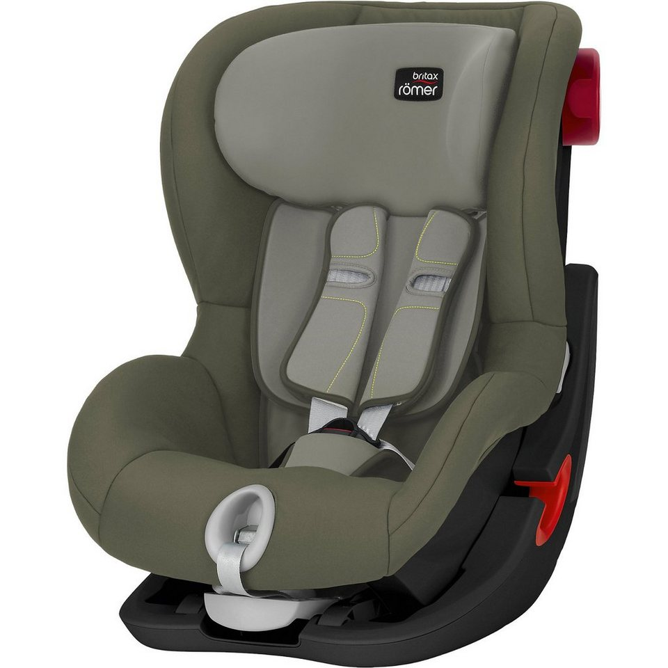 britax r mer auto kindersitz king ii black series green. Black Bedroom Furniture Sets. Home Design Ideas