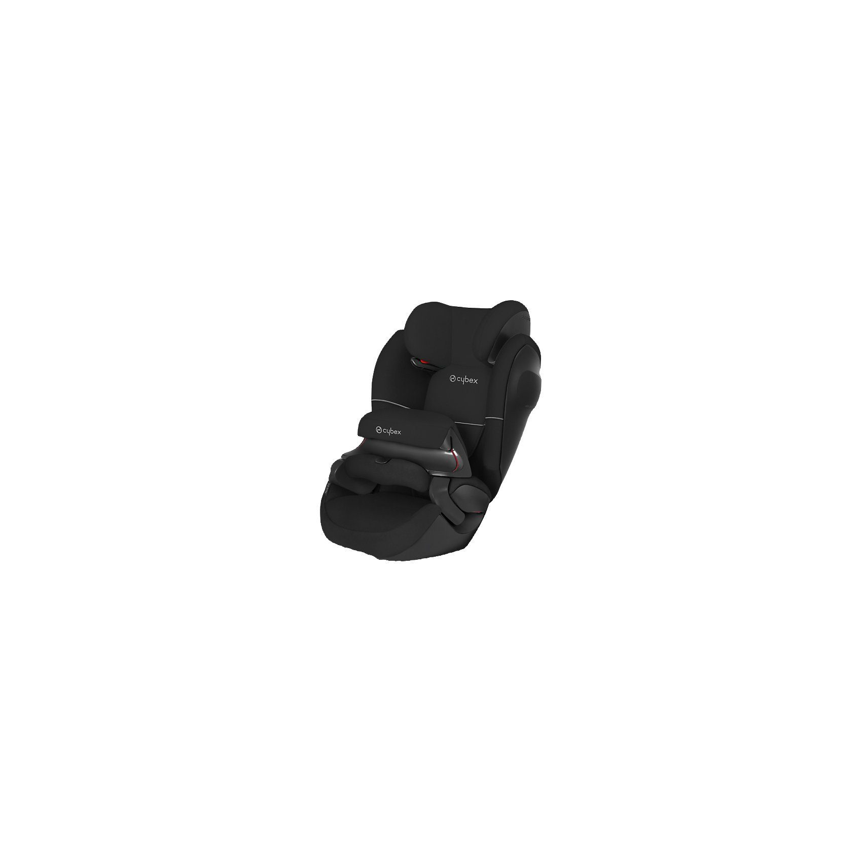 Cybex Auto-Kindersitz Pallas M SL, Silver-Line, Pure Black-Black