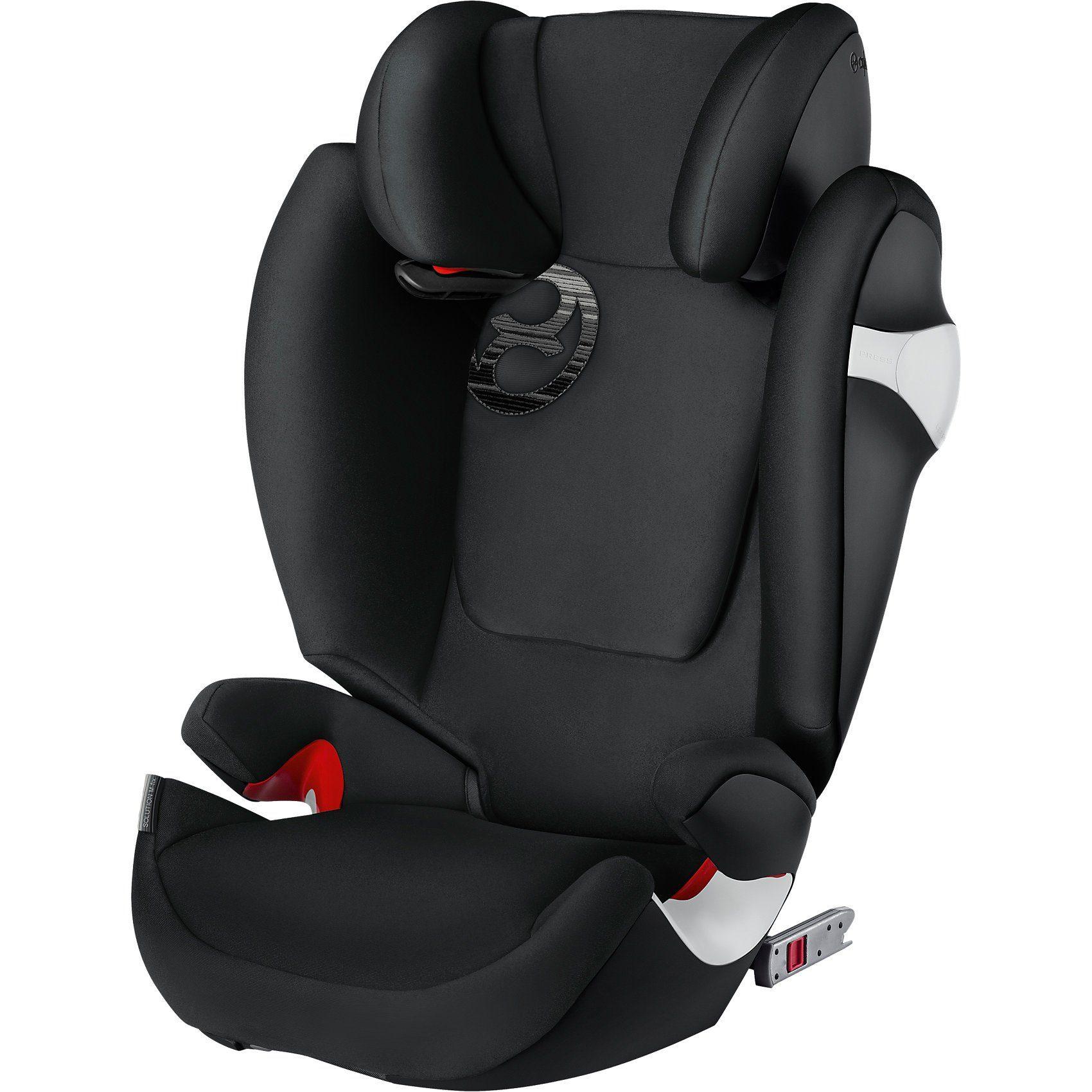 Cybex Auto-Kindersitz Solution M-Fix, Gold-Line, Lavastone Black-B