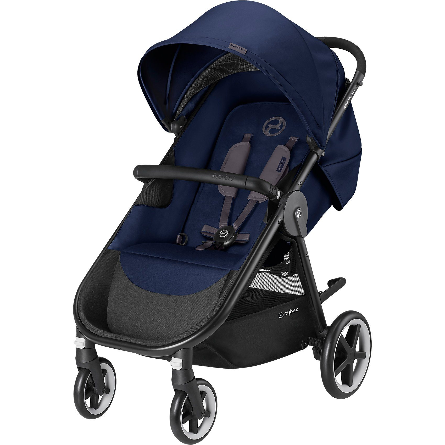 Cybex Shopper Agis M-Air 4, Gold-Line, Denim Blue-Blue, 2018