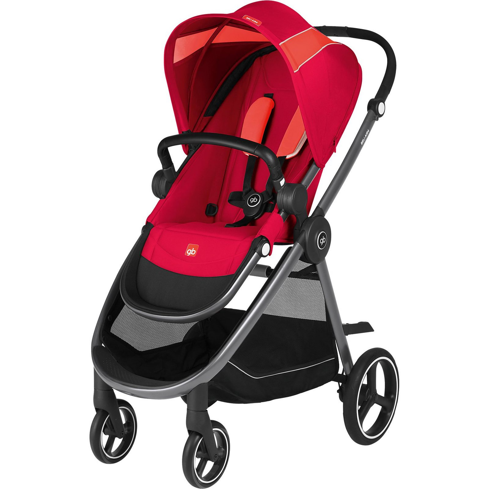 Goodbaby Sportwagen BELI AIR4, Cherry Red-Red, 2018
