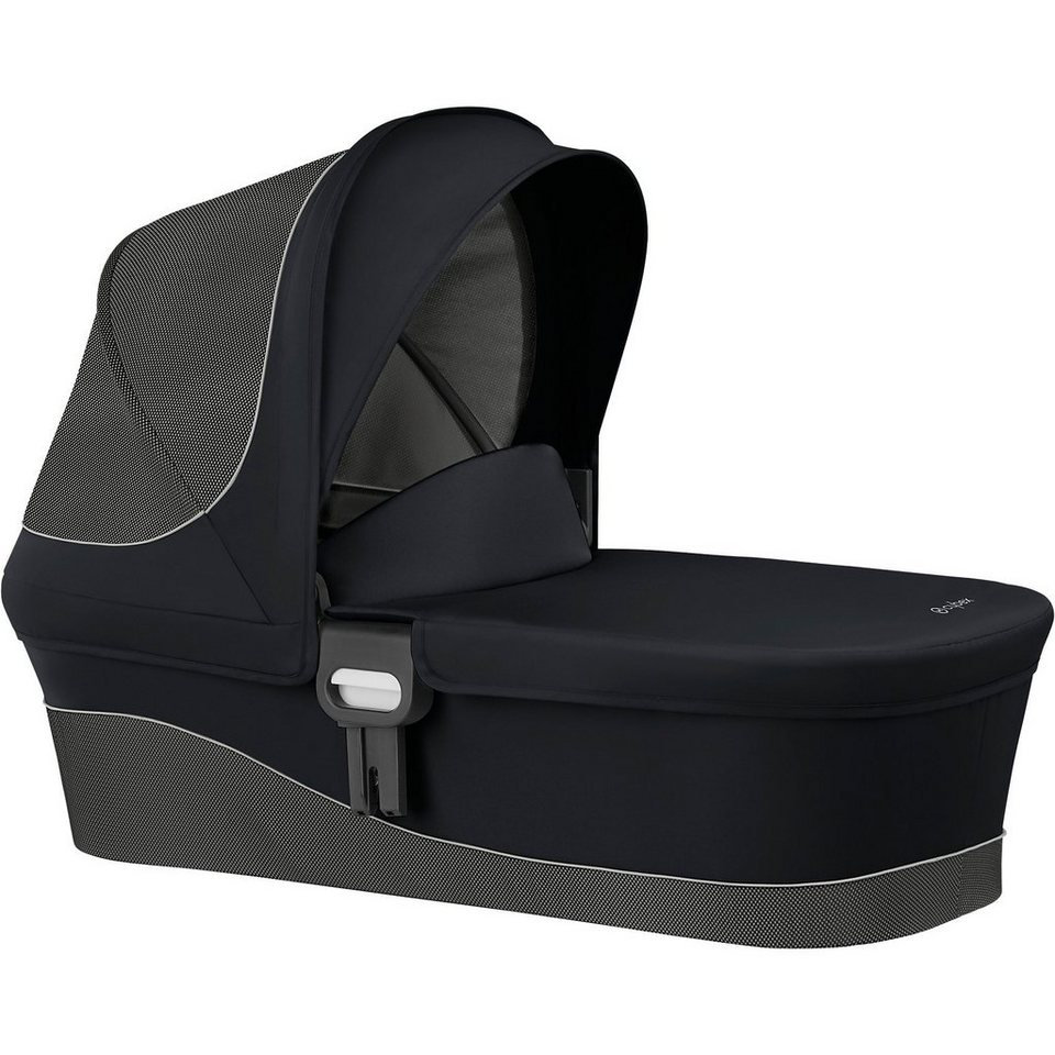 cybex kinderwagenaufsatz m gold line lavastone black. Black Bedroom Furniture Sets. Home Design Ideas