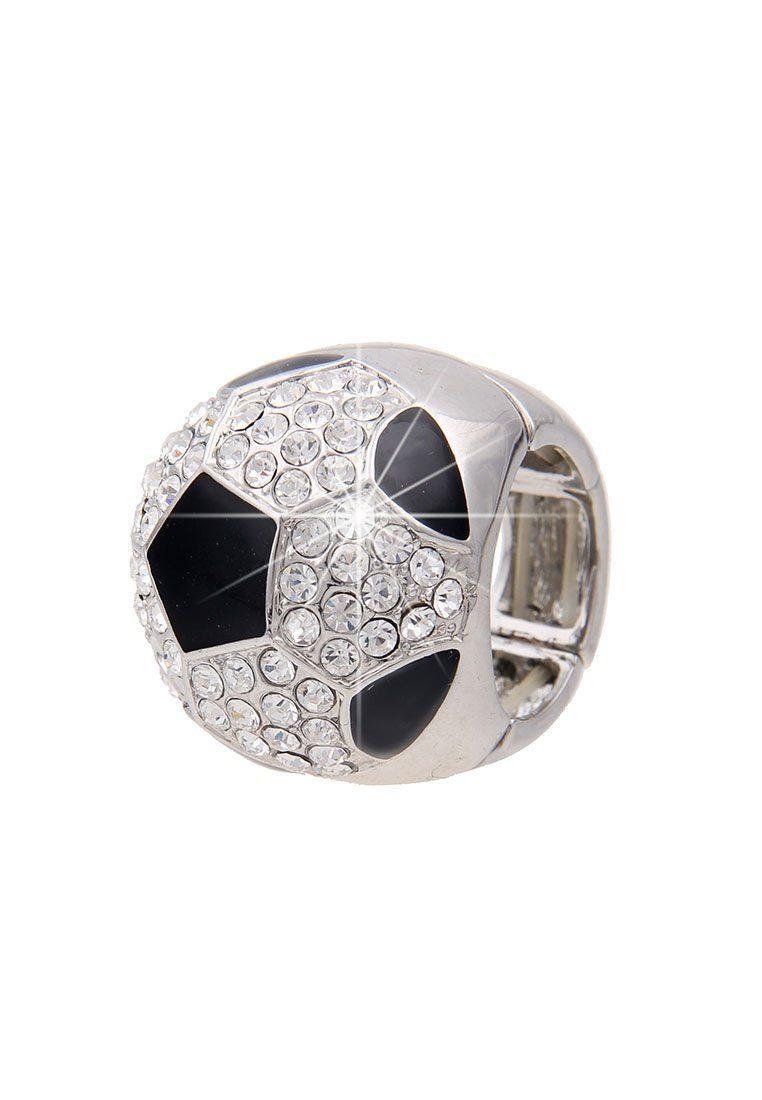 Leslii Glitzer-Ring im Fußball-Design