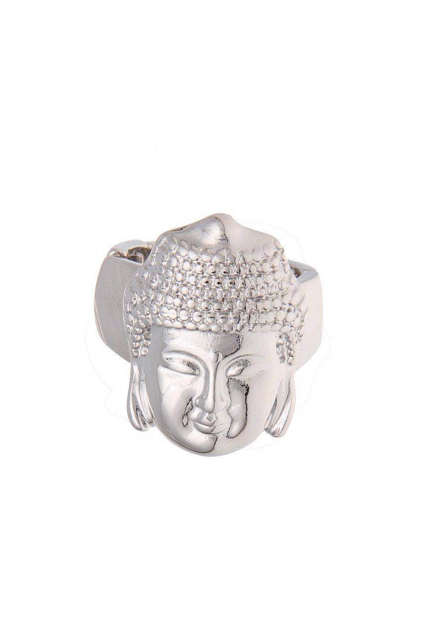 Leslii Fingerring mit Buddha-Kopf