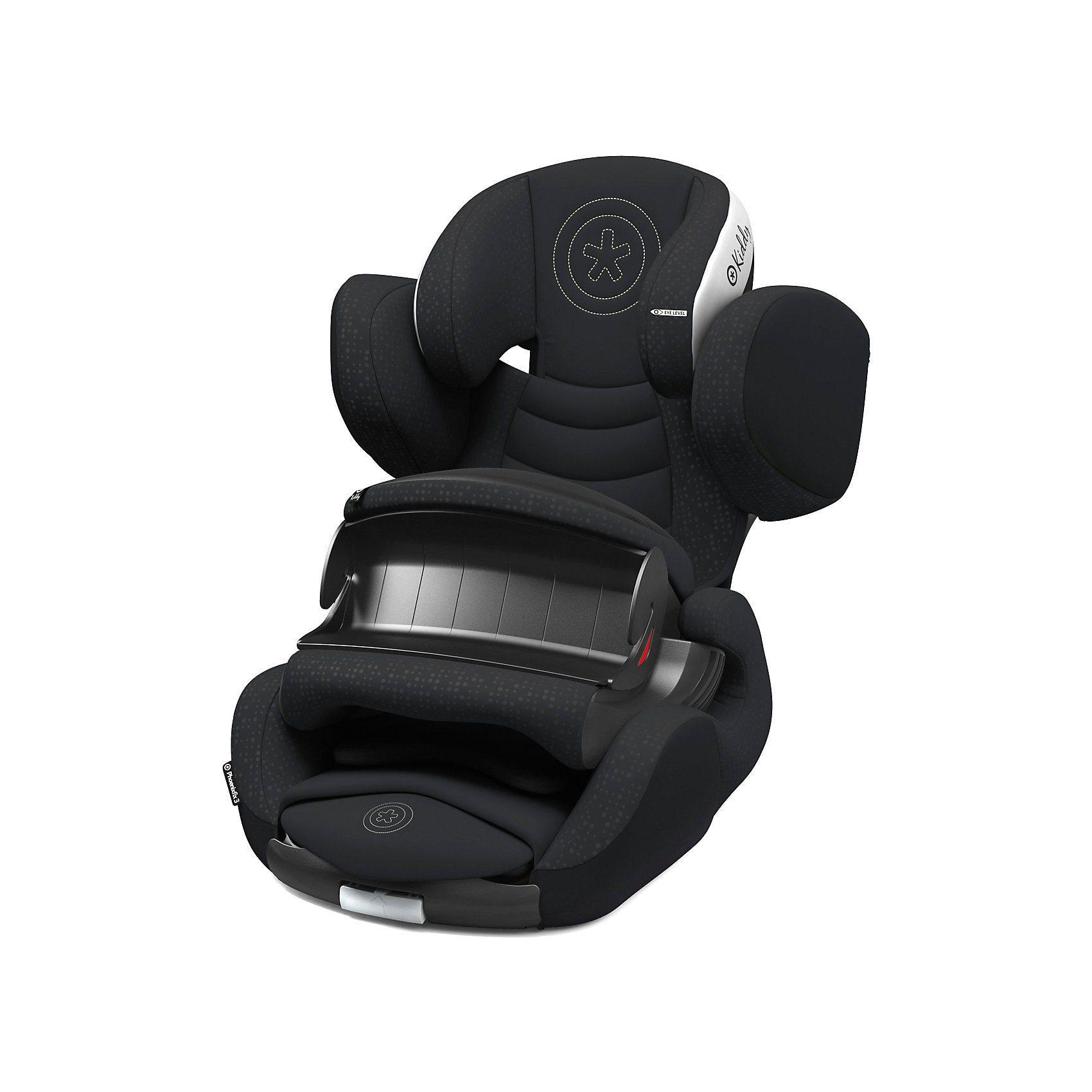 kiddy Auto-Kindersitz Phoenixfix 3, Mystic Black, 2018