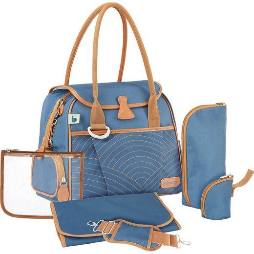 BABYMOOV Wickeltasche Style Bag, blue navy