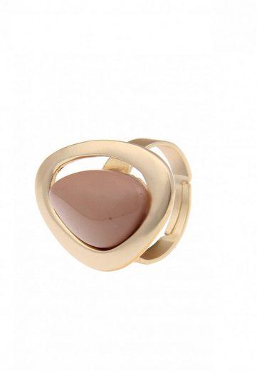 Leslii Ring mit eingebettetem Stein