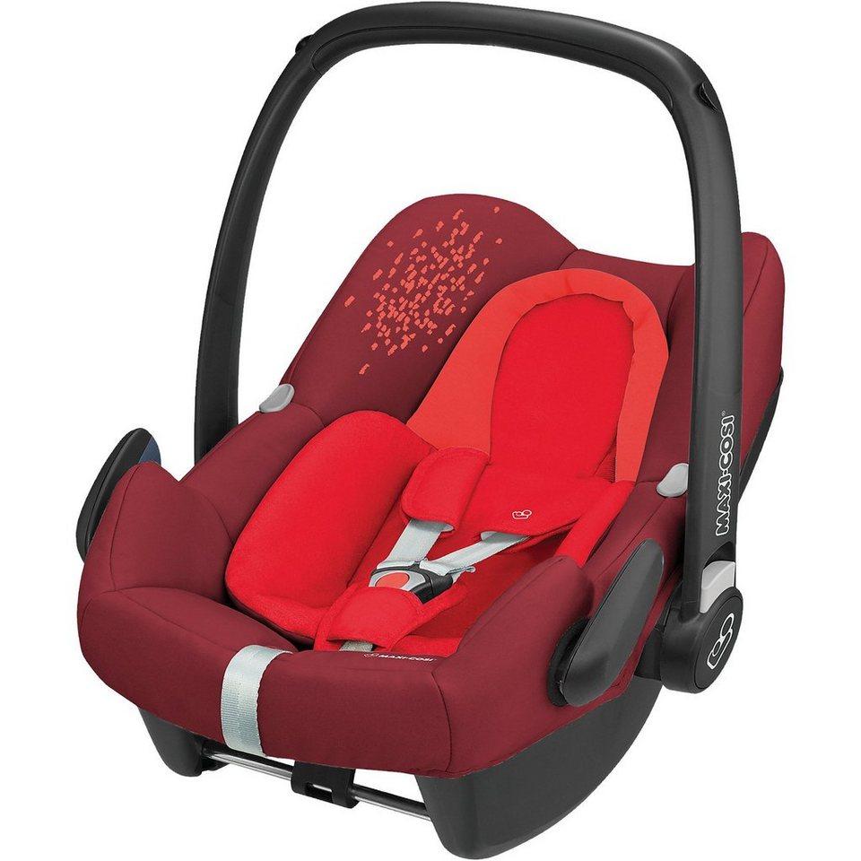 maxi cosi babyschale rock vivid red 2018 kaufen otto. Black Bedroom Furniture Sets. Home Design Ideas