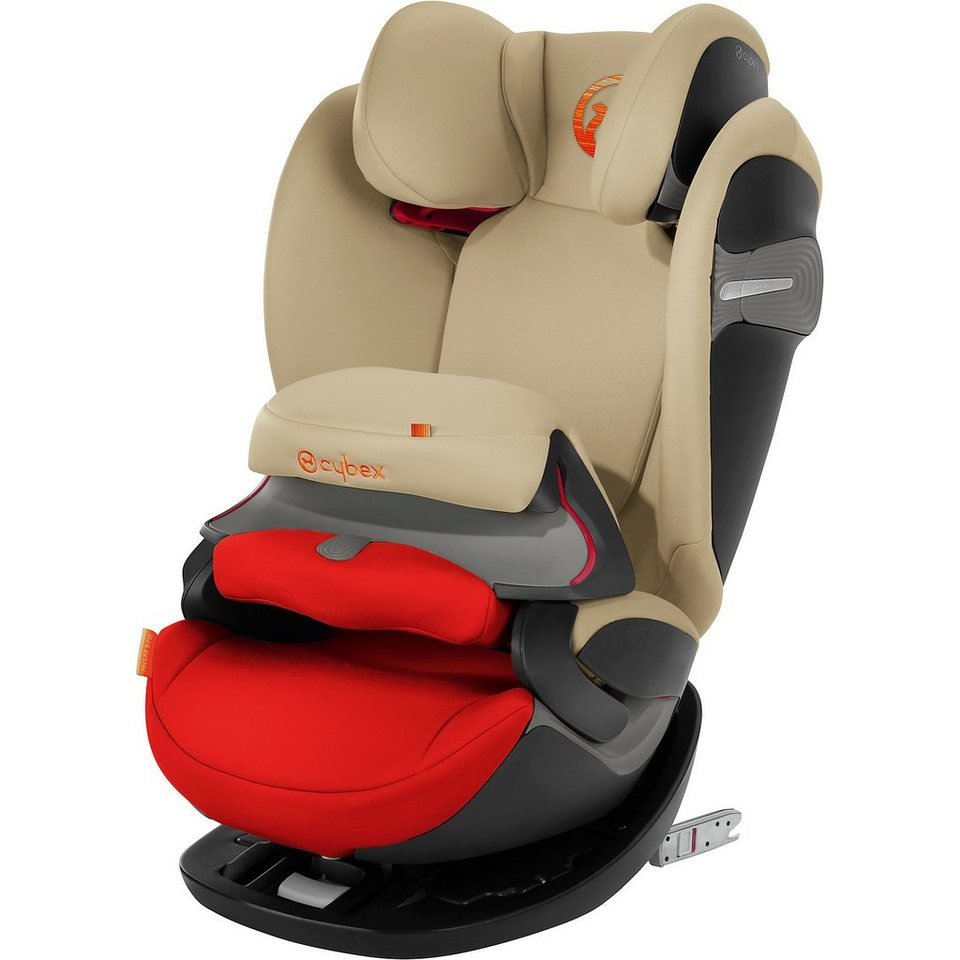 Cybex Auto-Kindersitz Pallas S-Fix, Gold-Line, Autumn Gold online kaufen