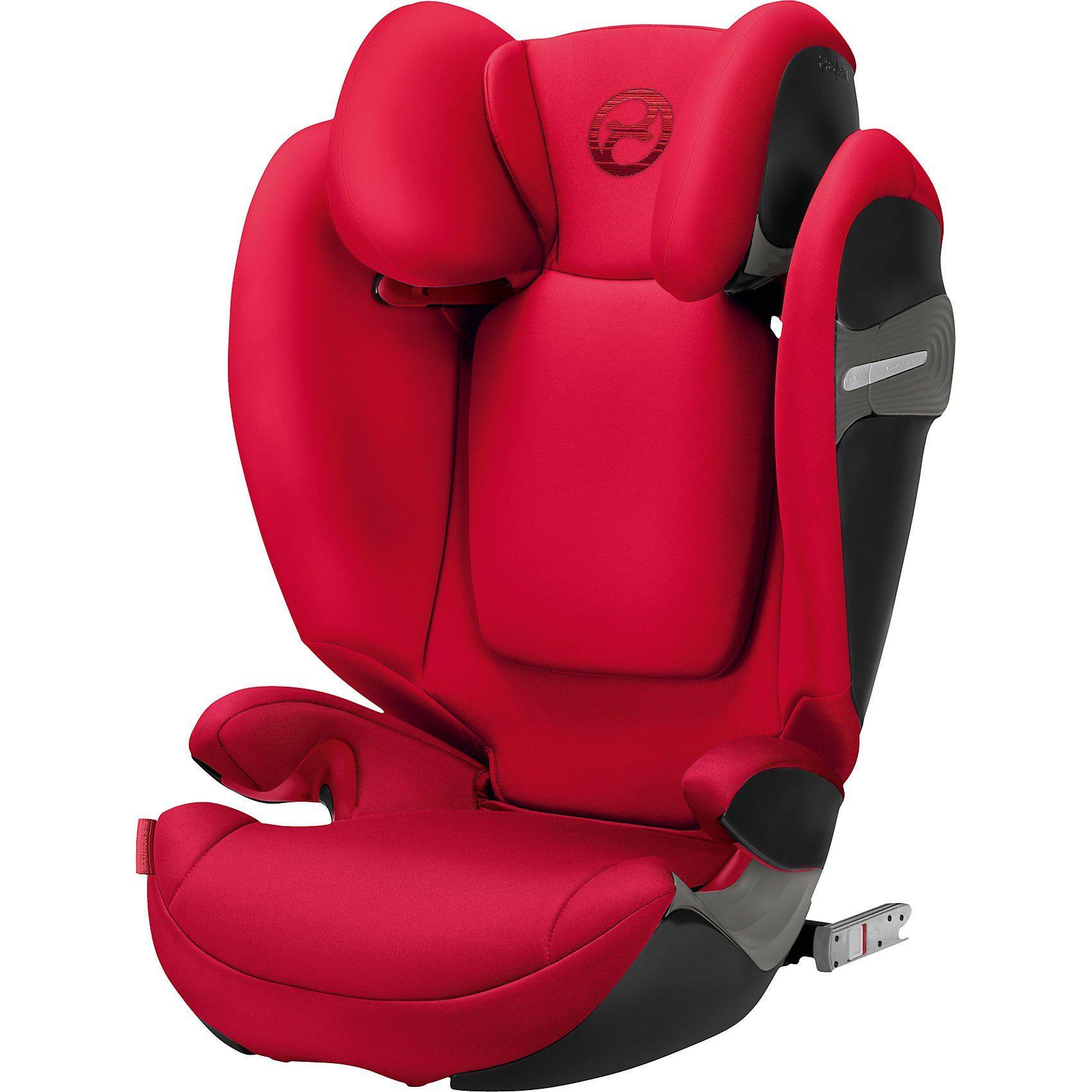 Cybex Auto-Kindersitz Solution S-Fix, Gold-Line, Rebel Red, 2018