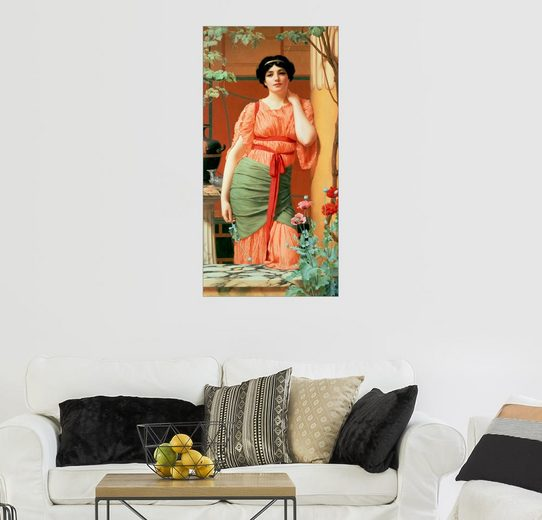 Posterlounge Wandbild - John William Godward »Nerissa«