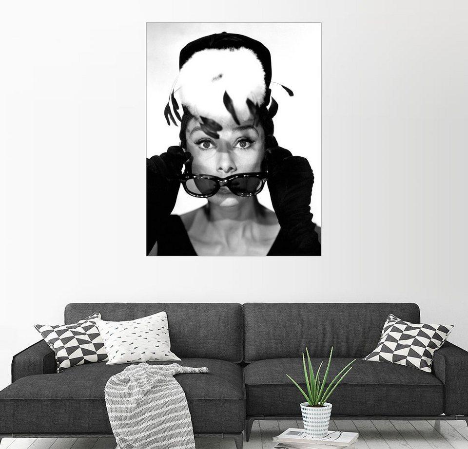 posterlounge wandbild fr hst ck bei tiffany audrey hepburn online kaufen otto. Black Bedroom Furniture Sets. Home Design Ideas