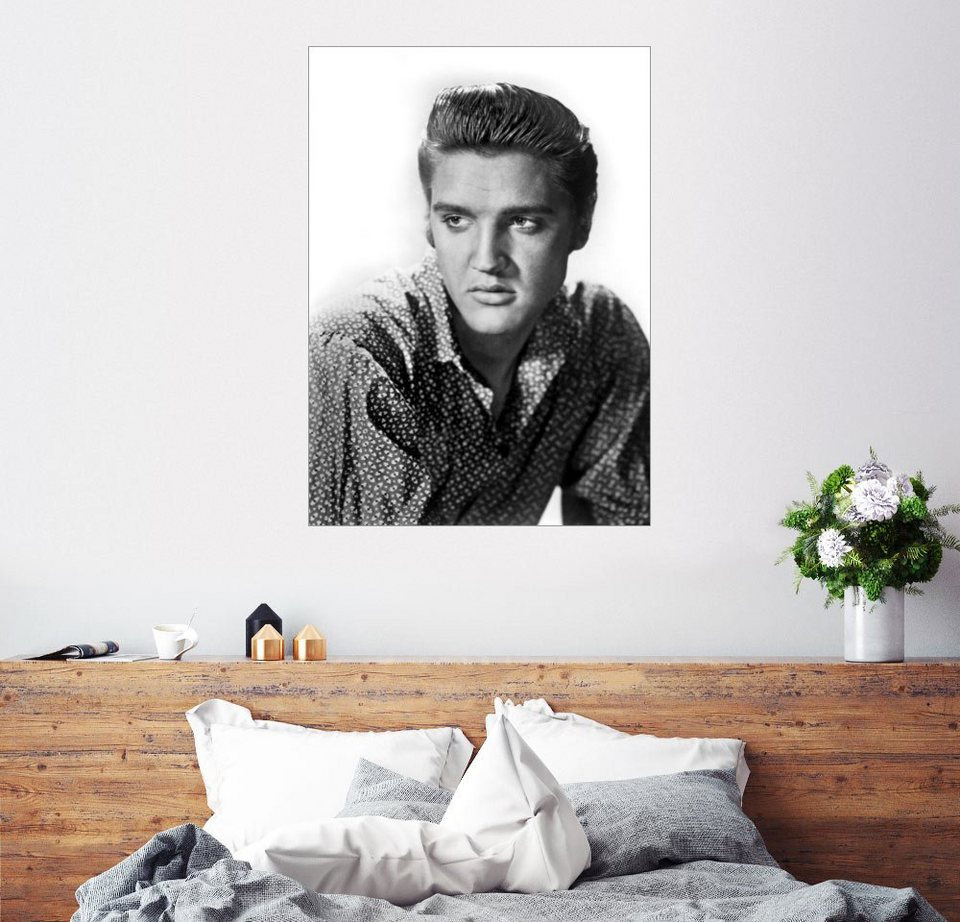 posterlounge wandbild elvis presley kaufen otto. Black Bedroom Furniture Sets. Home Design Ideas