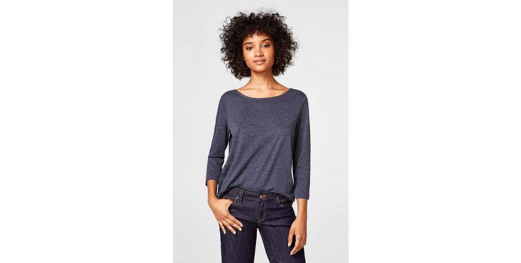 ESPRIT Lässiges Basic-Shirt aus Organic Cotton Bestellen Günstig Online Die Günstigste Zum Verkauf oty1uMwY1m