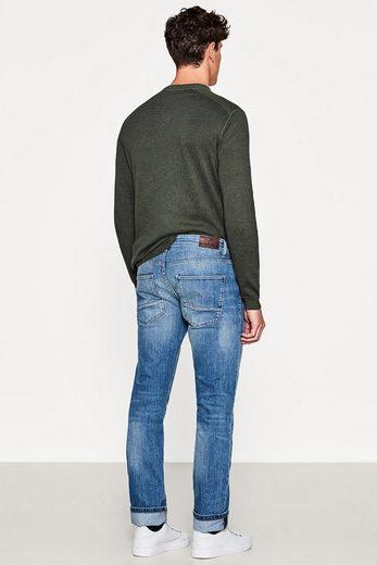 ESPRIT Stretch-Jeans mit Organic Cotton