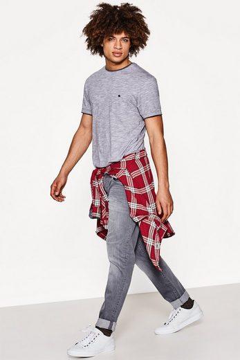 EDC BY ESPRIT Layer-Shirt aus Baumwolljersey