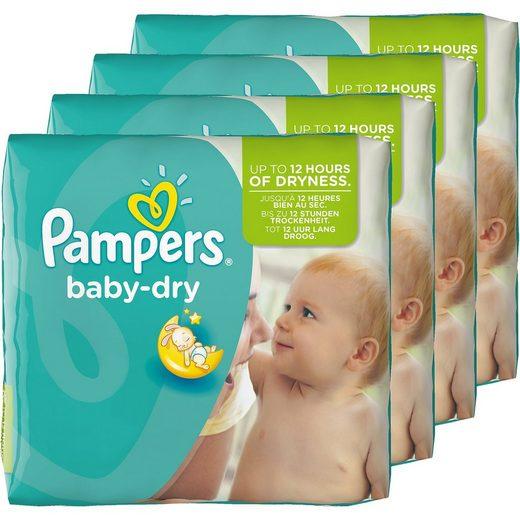 Pampers 1x152 Stück Baby Dry Gr.4+ Maxi Plus 9-18 kg Monatspack