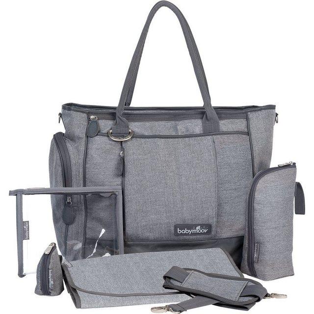 Wickelmöbel und Zubehör - BABYMOOV Wickeltasche Essential Bag, grau meliert  - Onlineshop OTTO