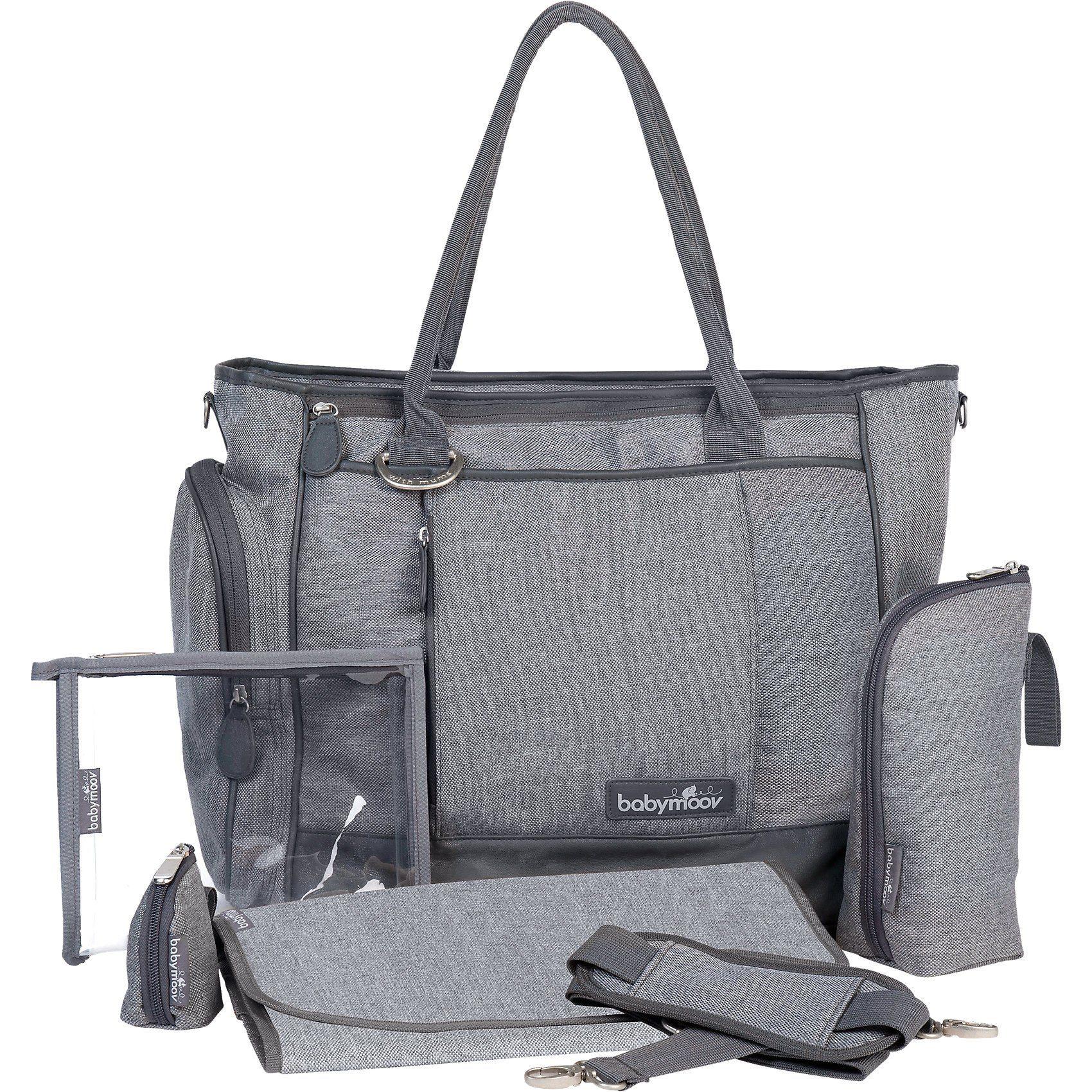 BABYMOOV Wickeltasche Essential Bag, grau meliert   OTTO