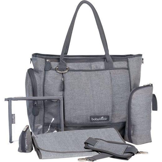 BABYMOOV Wickeltasche Essential Bag, grau meliert