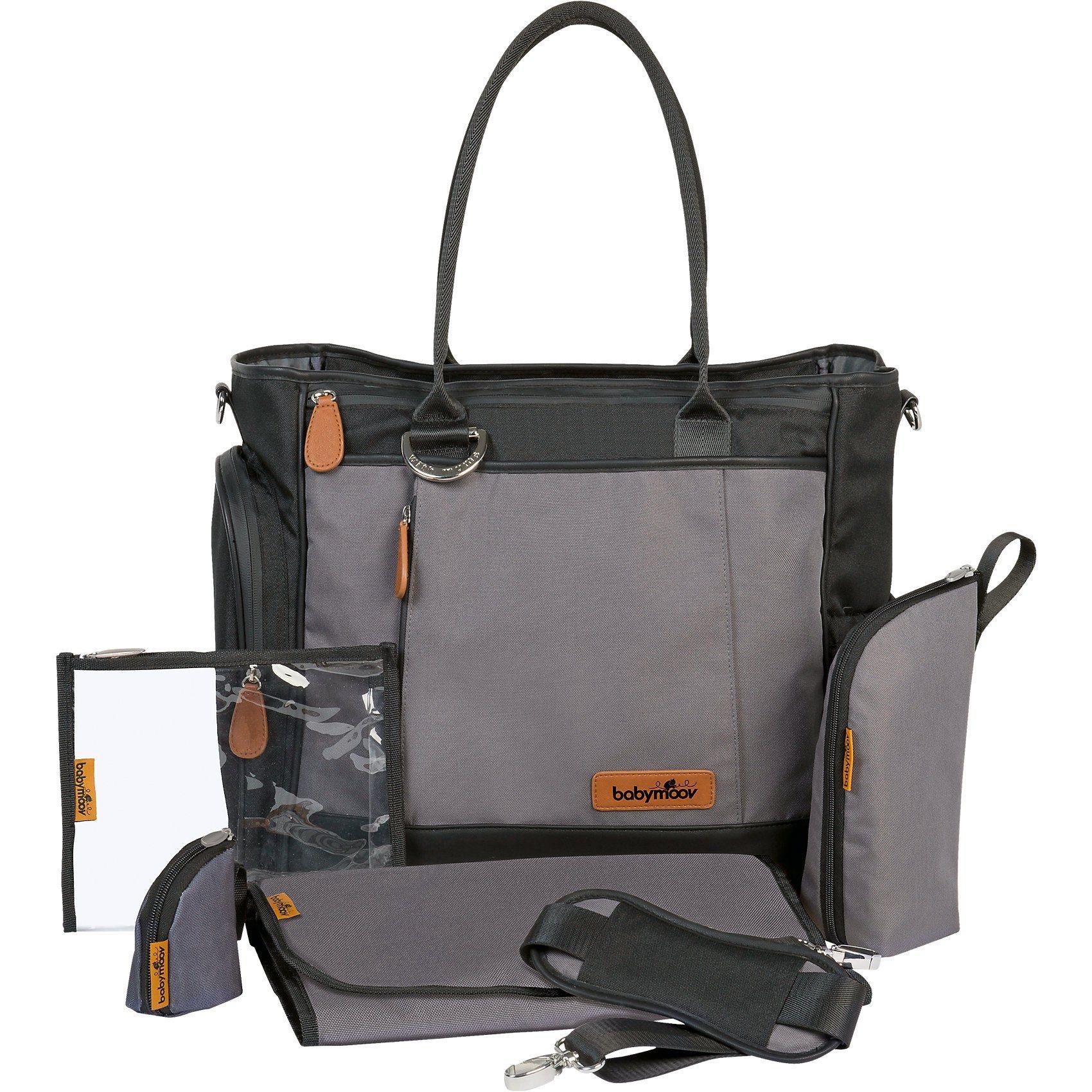 BABYMOOV Wickeltasche Essential Bag, schwarz