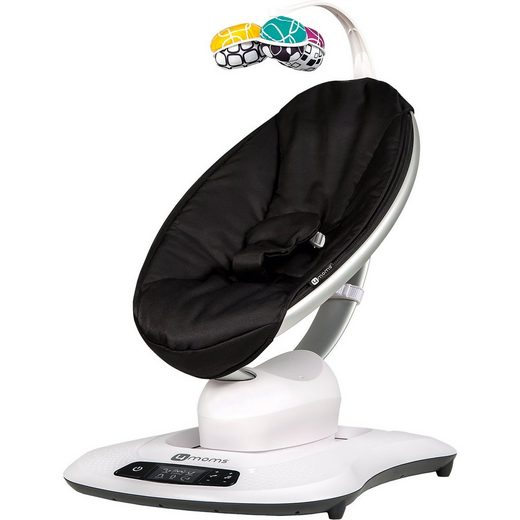 4moms Wippe mamaRoo 4, Classic Black