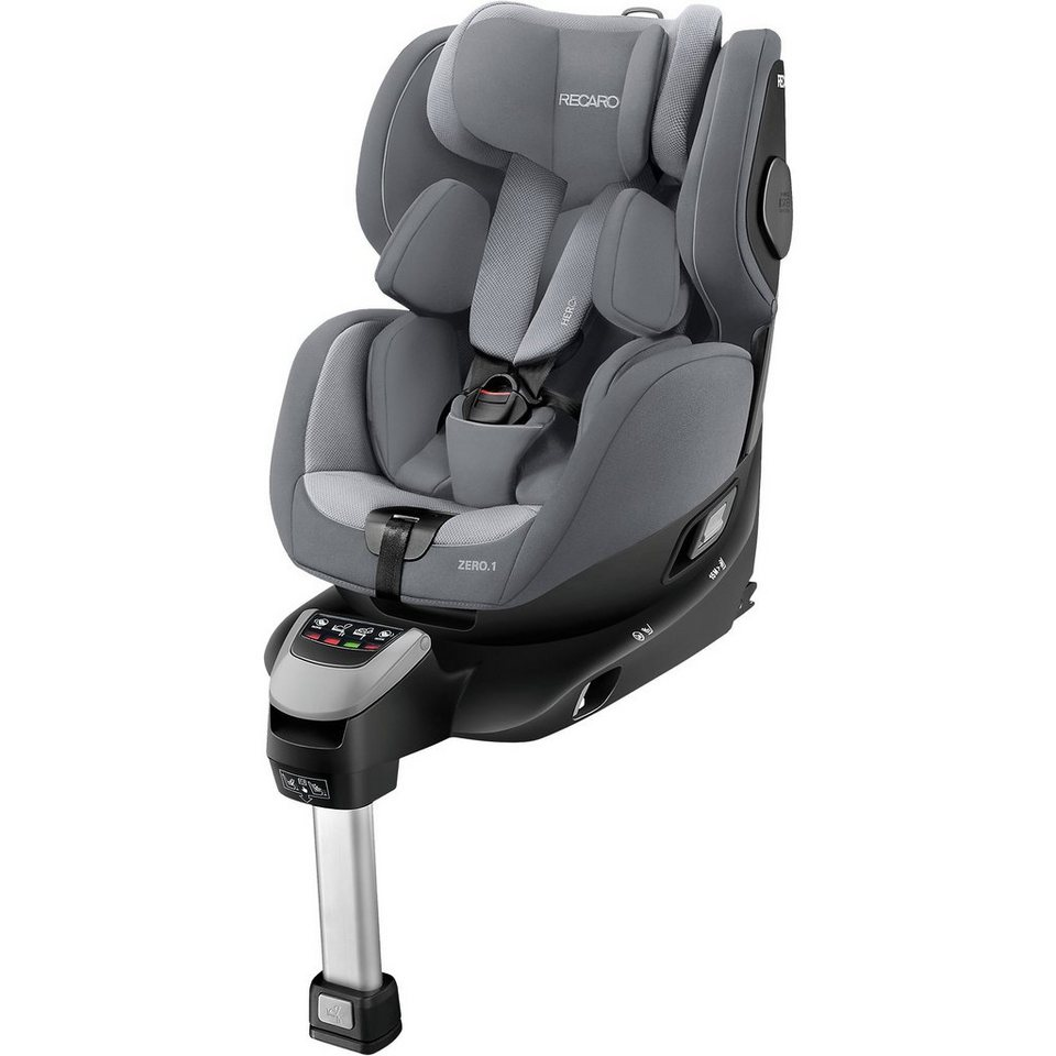 recaro auto kindersitz zero 1 i size aluminium grey. Black Bedroom Furniture Sets. Home Design Ideas