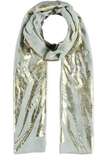 Passigatti Schal im Flügel-Gold-Design